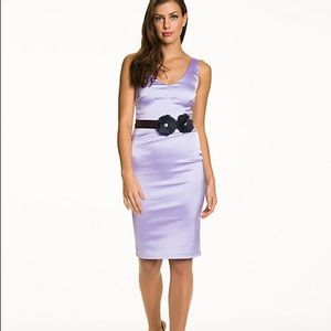 Le Chateau lilac dress